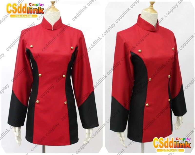 Sabrina from Pokemon Cosplay Costume red outfit
