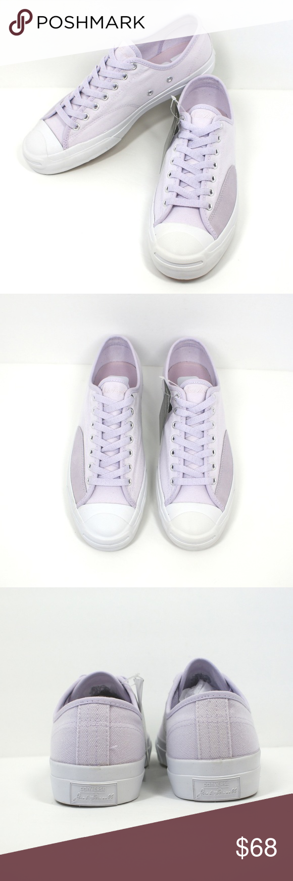 c6d03b506412 Converse Jack Purcell Pro Canvas - Barely Grape 100% Authentic - New -  Without Box