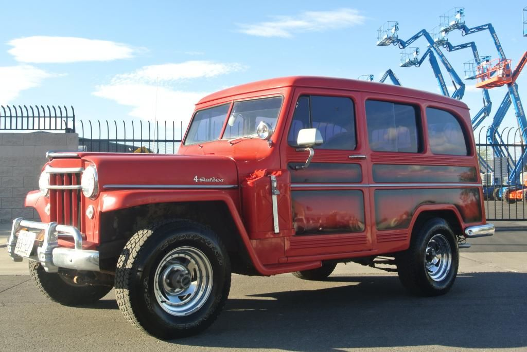 1956 Jeep Willys Wagon Super Hurricane 4x4 For Sale Willys Wagon