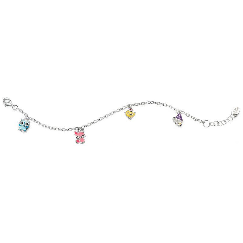 D for Diamond Silver Twinkle Twinkle Little Star Locket for Girls Cdb222