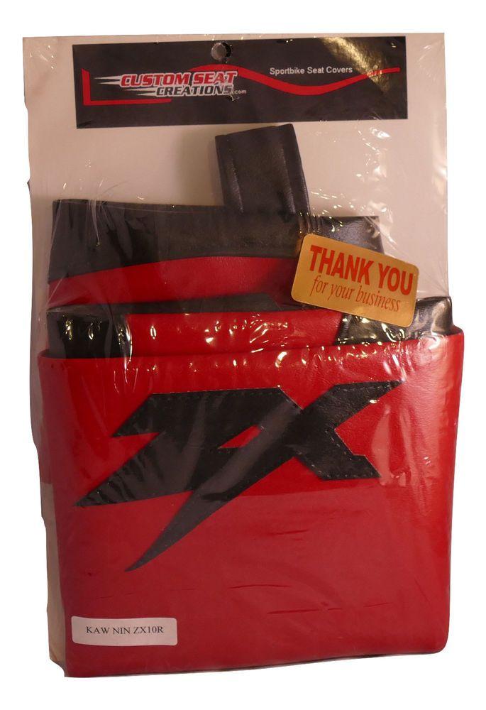 04 05 Ninja ZX 10R ZX Line Sport Bike Fancy Seat Cover Overstock Items #CustomSeatCreations