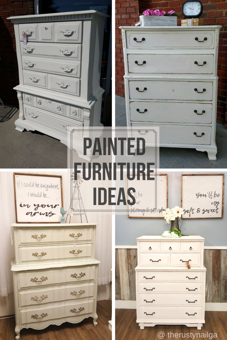 Chalk Painted Chest Of Drawers Ideas Diy Painted Furniture French Provincial Chest Of Drawers Mid Century Modern B Paint Dresser Diy Diy Dresser Diy Drawers