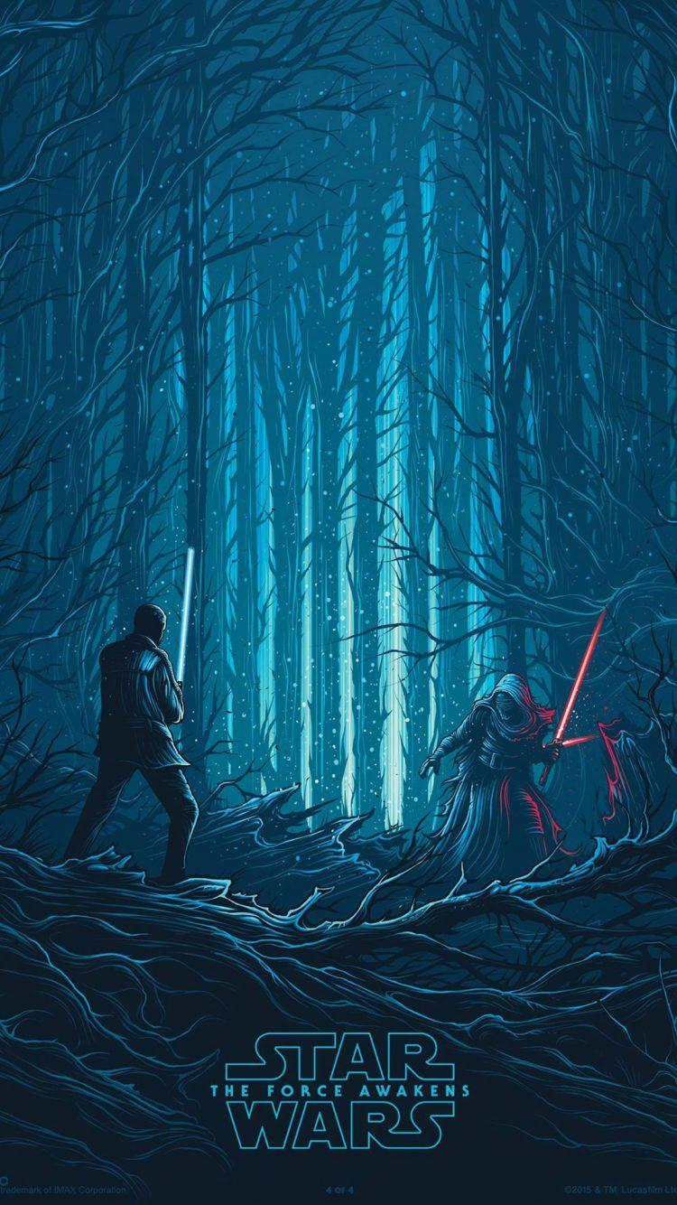 Star Wars The Force Awakens Mobile Wallpaper Lights Camera