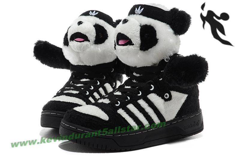 adidas x jeremy scott panda scarpe soldato kevin durant 5 all - star