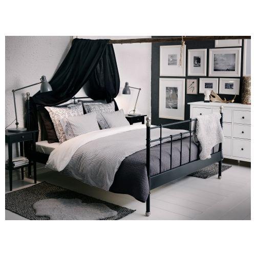 SVELVIK estructura de cama 160 + viga + somier | #PinHome ...