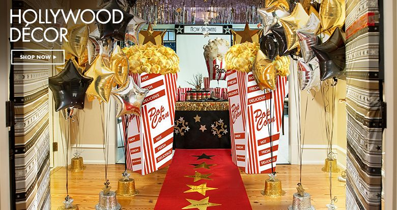 Hollywood Theme Party Supplies Hollywood Party Decorations
