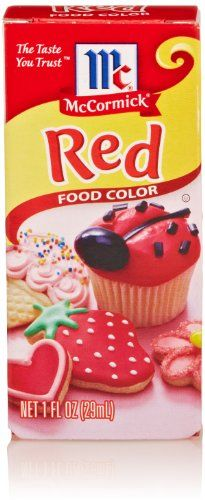McCormick Red Food Color 1 Oz * Check this awesome product by going ...