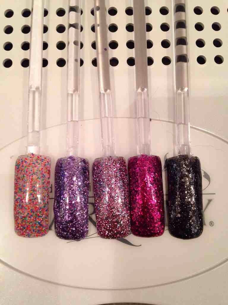 Gelish Trends Too Tough To Be Sweet Nails Swatch Sweet 16 Candles