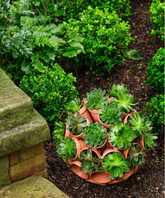Better Homes And Gardens Craft Ideas Part - 45: Ornamental Terracotta Garden Feature - DIY, Gardening, Craft, Recipes U0026  Renovating | Better