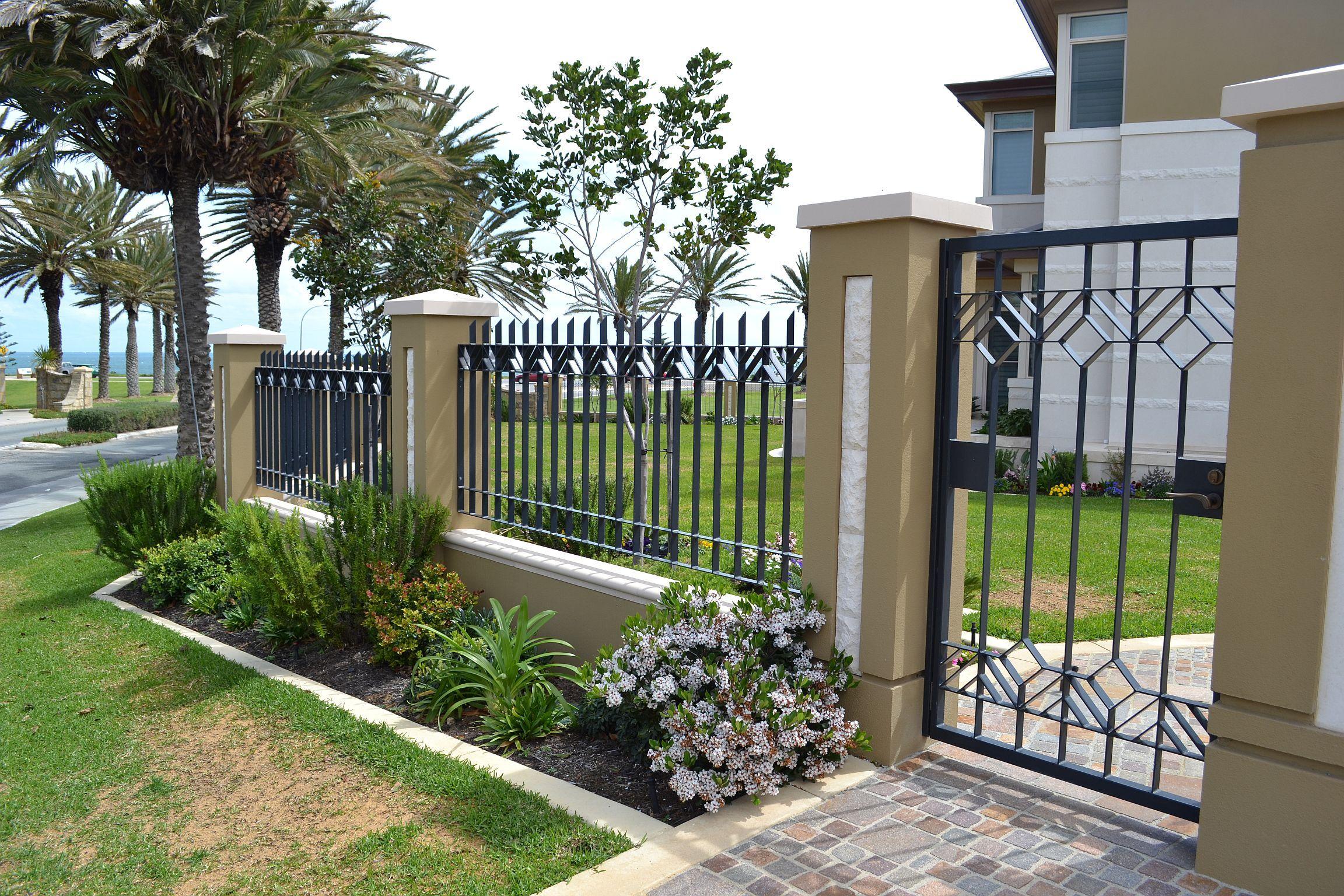 Best Kitchen Gallery: Ornate Metal Fence Fences Gates Screens Railings Pinterest of Fence Designs For Homes  on rachelxblog.com