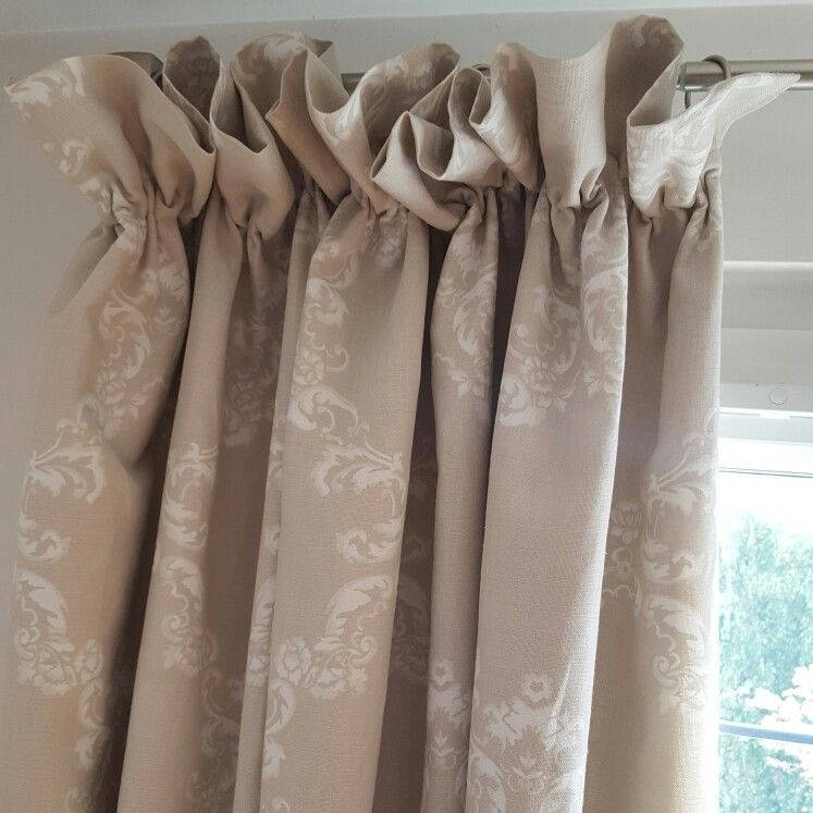 Ruffle Top Gathered Curtains Laura Ashley Wilton Fabric Ruffle