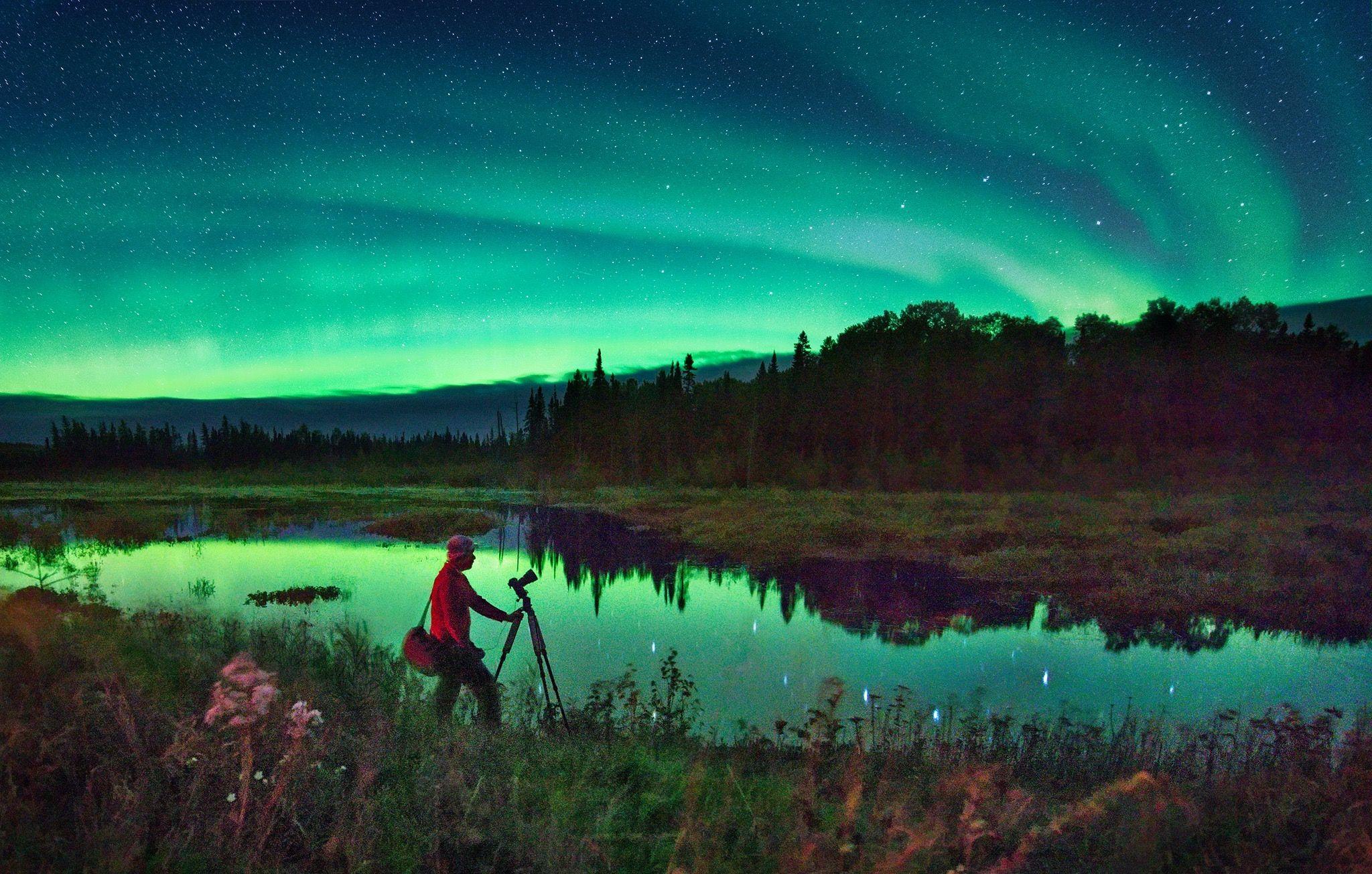 minnesota northern lights aura borealis by dan anderson dan