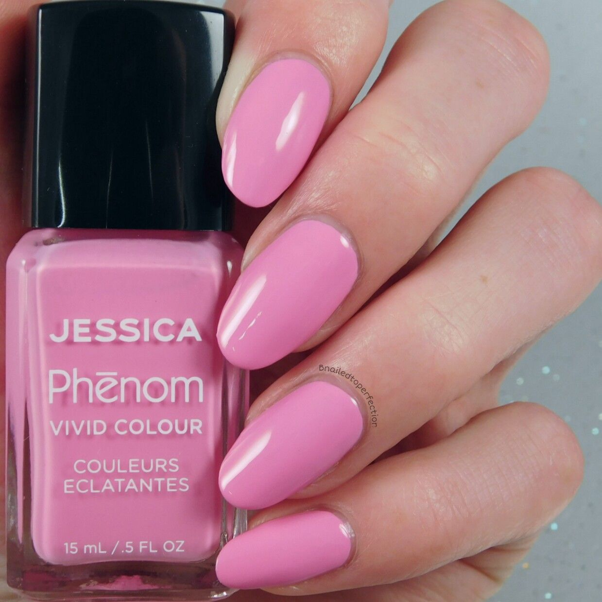 Jessica Nails Phenom The Futurist Collection - Electro Pink (swatch ...
