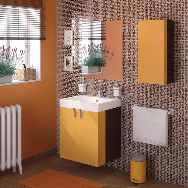 Da vida a tu ba o haciendo al color protagonista leroy for Banos interiores decoracion