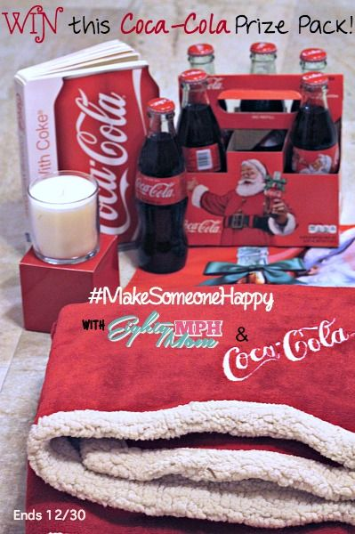 Make Someone Happy with Coca Cola this holiday season {Giveaway} spon.