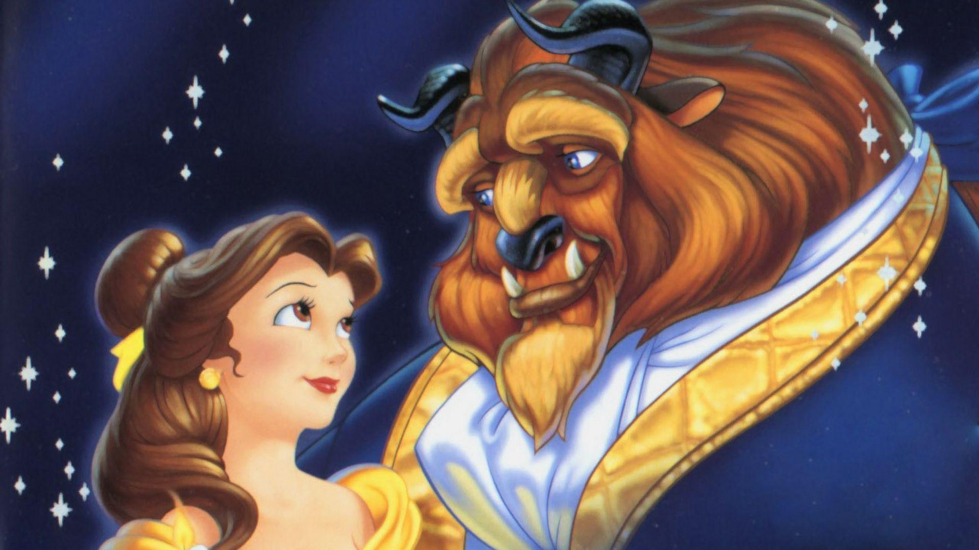 Beauty And The Beast Beast Wallpaper Cartoon Wallpaper Hd