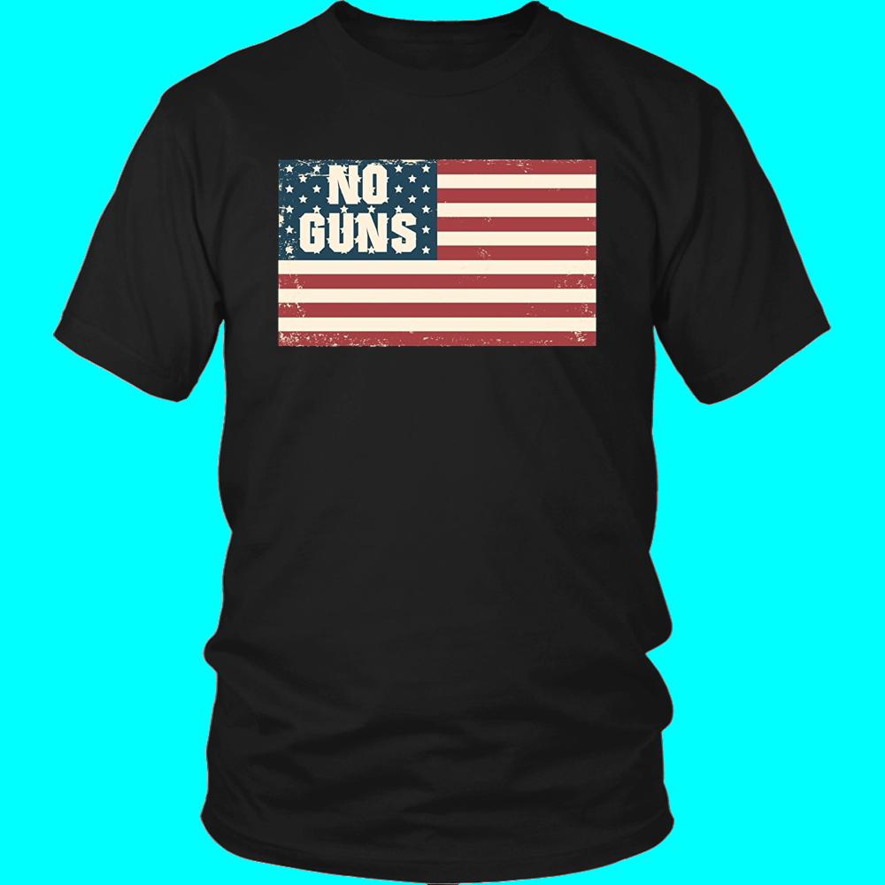 No Guns Political Protest Shirt