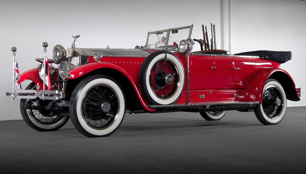 A Custom Hunting Rolls-Royce Hits the Auction Block at Barrett ...