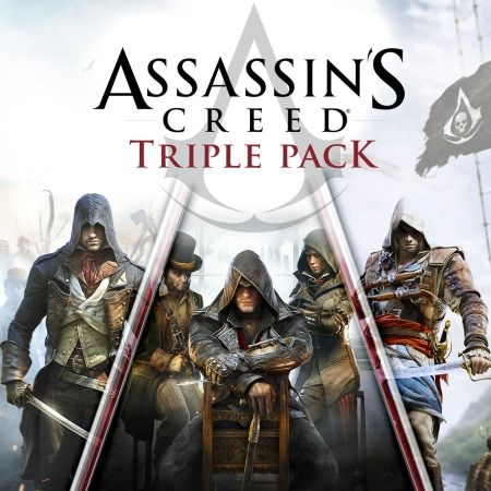 Buy Assassin S Creed Triple Pack Black Flag Unity Syndicate