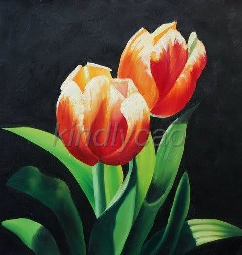 Buy Art Handmade Modern Flowers Oil Paintings Canvas From Madeinchina Wholesaler On Shopmadeinc Flower Painting Canvas Oil Painting Flowers Flower Painting