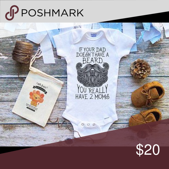"""f707fa0a2 Baby Onesies beard dads! Baby Onesies beard dads! """"If your dad doesn ..."""