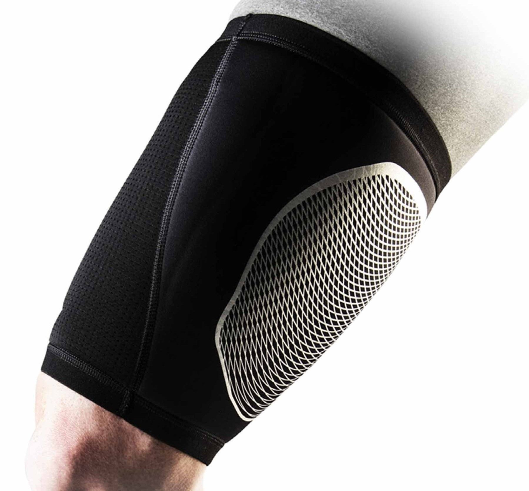 Nike Pro Combat Hyperstrong Thigh Sleeve in Black Nike