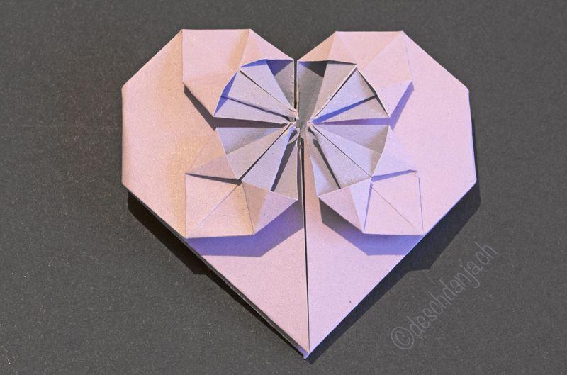 die besten 25 origami herz ideen auf pinterest herz falten saint valentine und kariertes papier. Black Bedroom Furniture Sets. Home Design Ideas