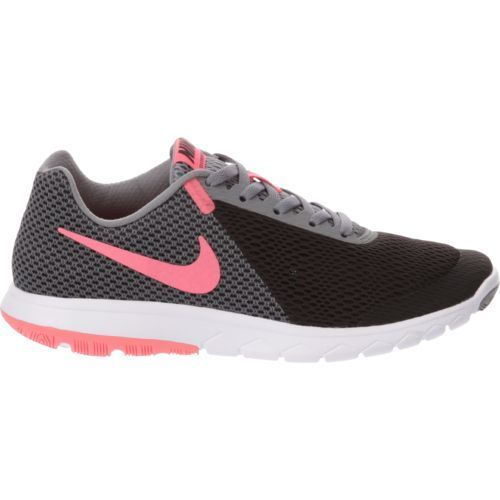 ecef52a4884f Nike Women s Flex Experience 6 Running Shoes (Black Hot Punch Cool  Grey White