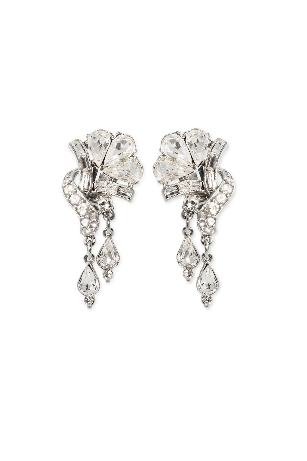 New to Rent the Runway! Ben-Amun Twisted Floral Drop Earrings