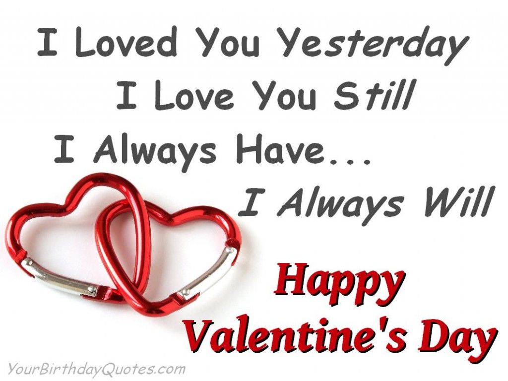 Cute Valentines Day Quotes  Valentines day quotes for him