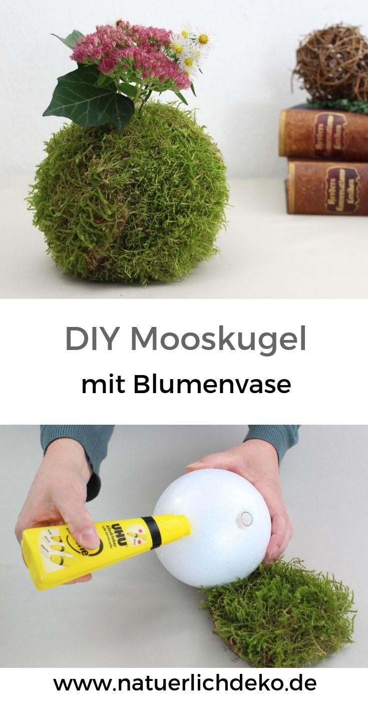 Photo of Machen Sie selbst Herbstmoosbällchen