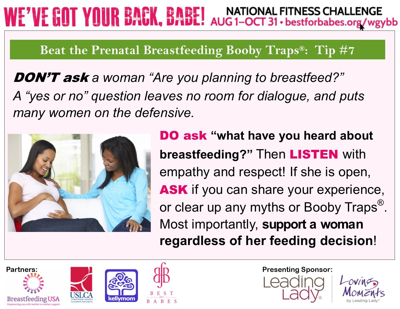 Breastfeeding: yes or no