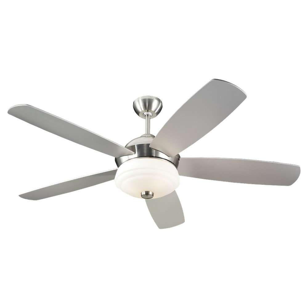 Montecarlo celestra ceiling fan mc 5cxr52bsd in brushed steel montecarlo celestra ceiling fan mc 5cxr52bsd in brushed steel guaranteed lowest price aloadofball Images
