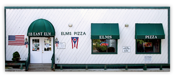 The Best Places To Eat In Granville Ohio Elms Pizza Parlor