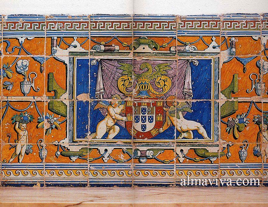 Carreaux renaissance carreaux de fa ence produits la Peindre de la faience