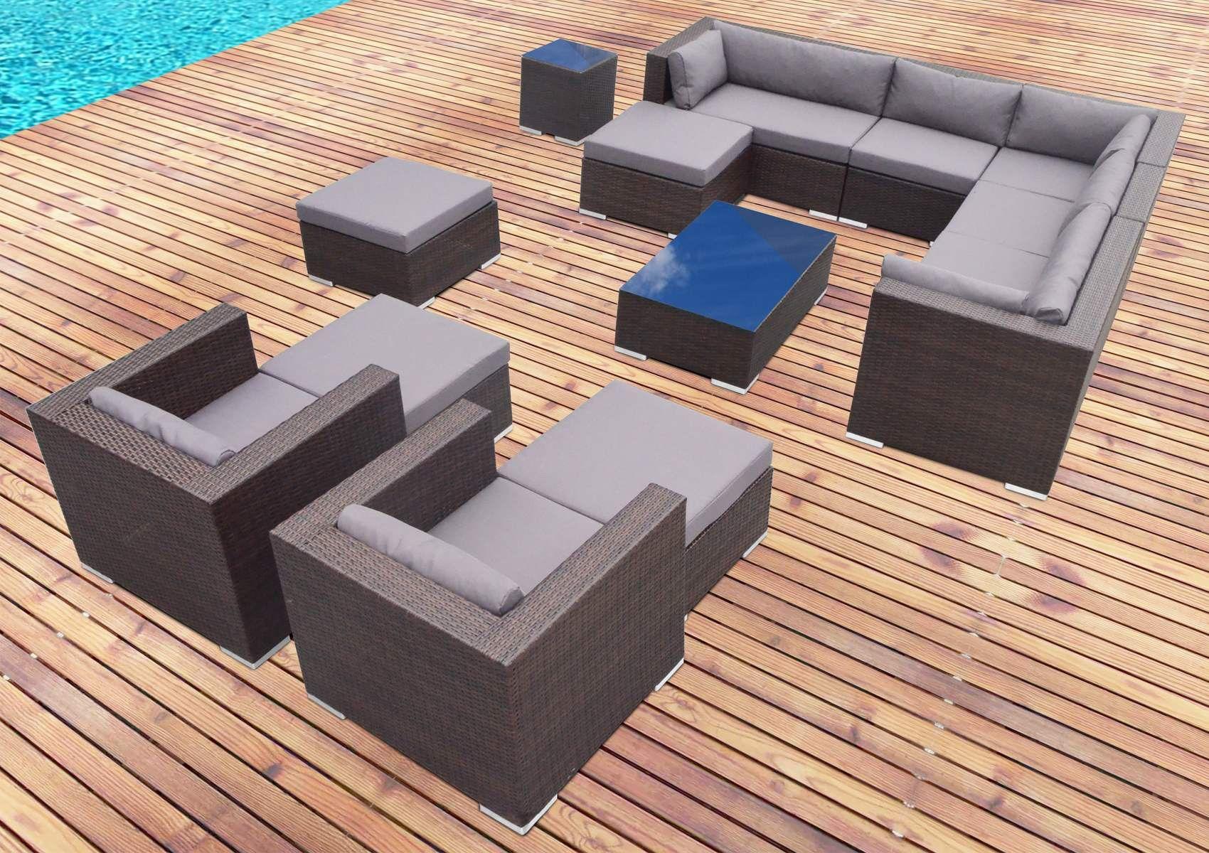 Salon de jardin design pas cher table et chaise jardin pas cher ...