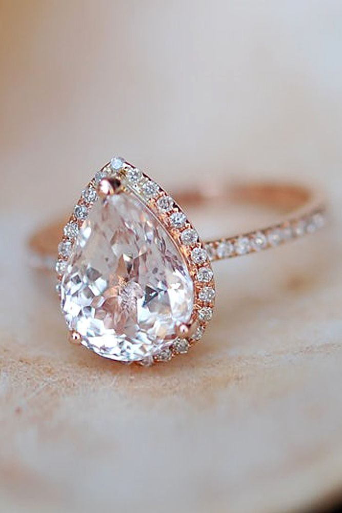 30 Halo Engagement Rings Or How To Get More Bling | Halo ...