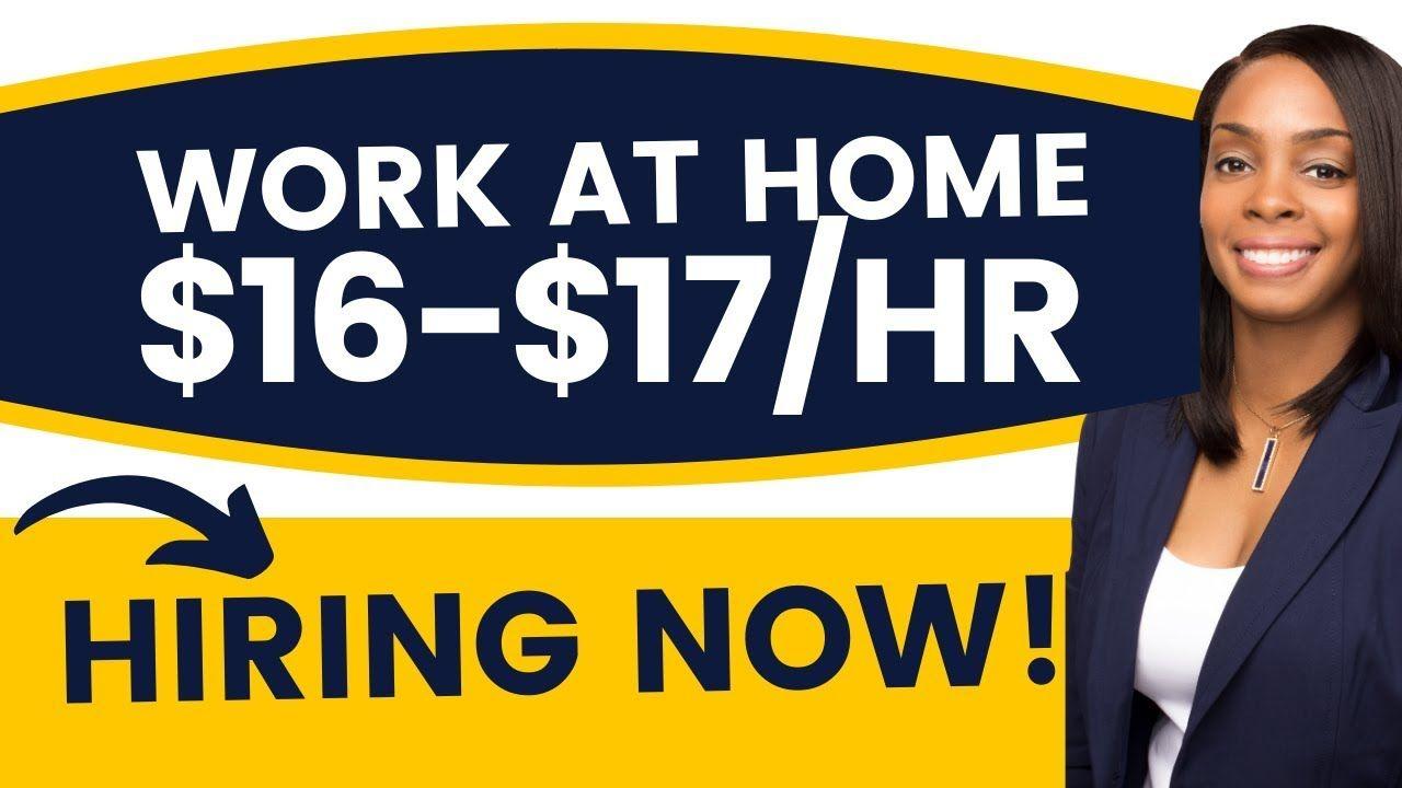 NEW! Remote Customer Service Job 16 Hourly *Immediate
