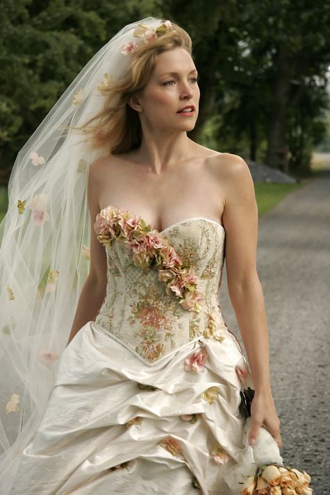 Floral Fantasy Gown Wedding Dress Sample Sale Floral Wedding