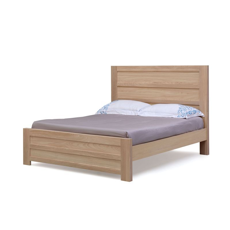 Cambridge Queen Size Mountain Ash Timber Bed Frame Unique