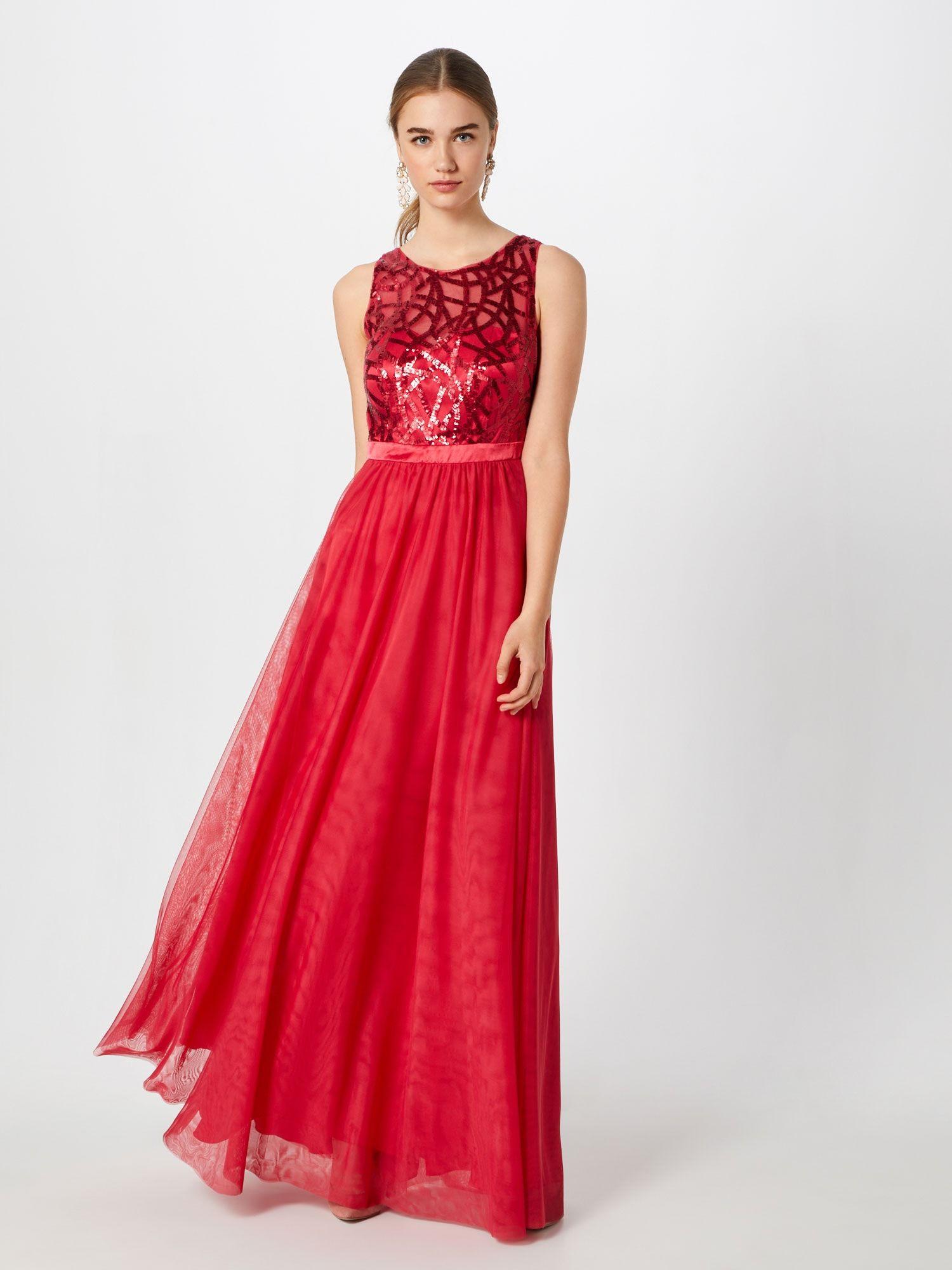 VM Vera Mont Kleid Damen, Hellrot, Größe 12  Formelle kleider