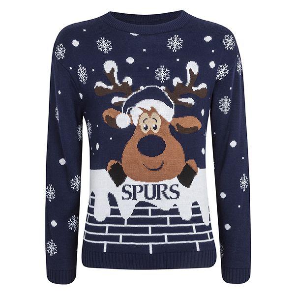 Spurs Adult Reindeer Xmas Jumper | COYS! | Pinterest | Spurs shop ...