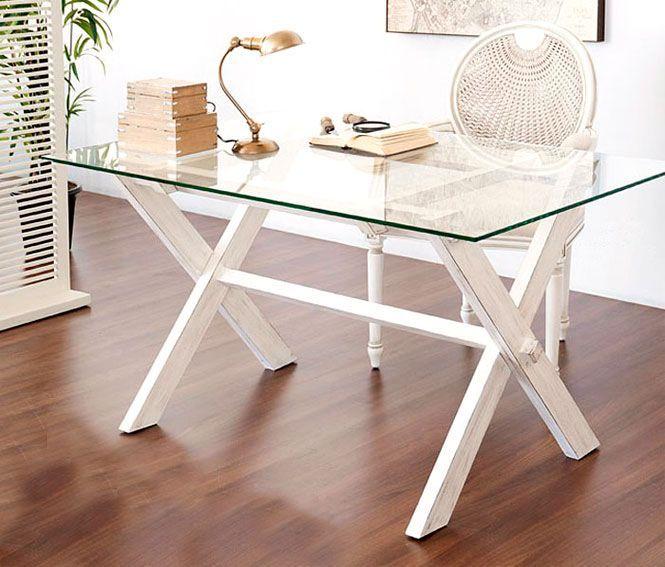 Muebles mesa plegable lacado blanco for Muebles coloniales blanco