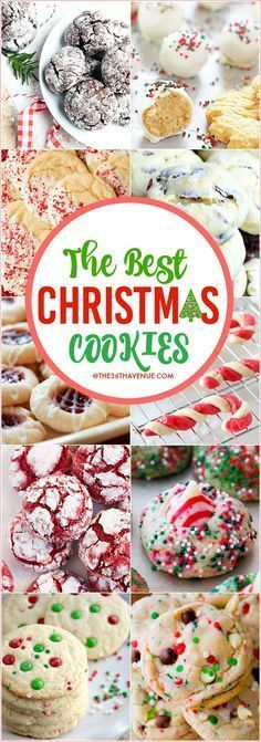 Christmas Cookies - These Christmas Cookie Recipes are delicious and ...