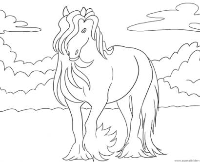 ausmalbilder pferde ausmalen 770 Malvorlage Alle Ausmalbilder