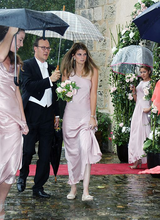 The Romantic Vintage Garden Themed Wedding Justin And Jesse Walsh Athina Onassis