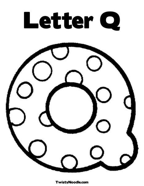 Letter Q Coloring Page Letter A Coloring Pages Alphabet Coloring Pages Lettering