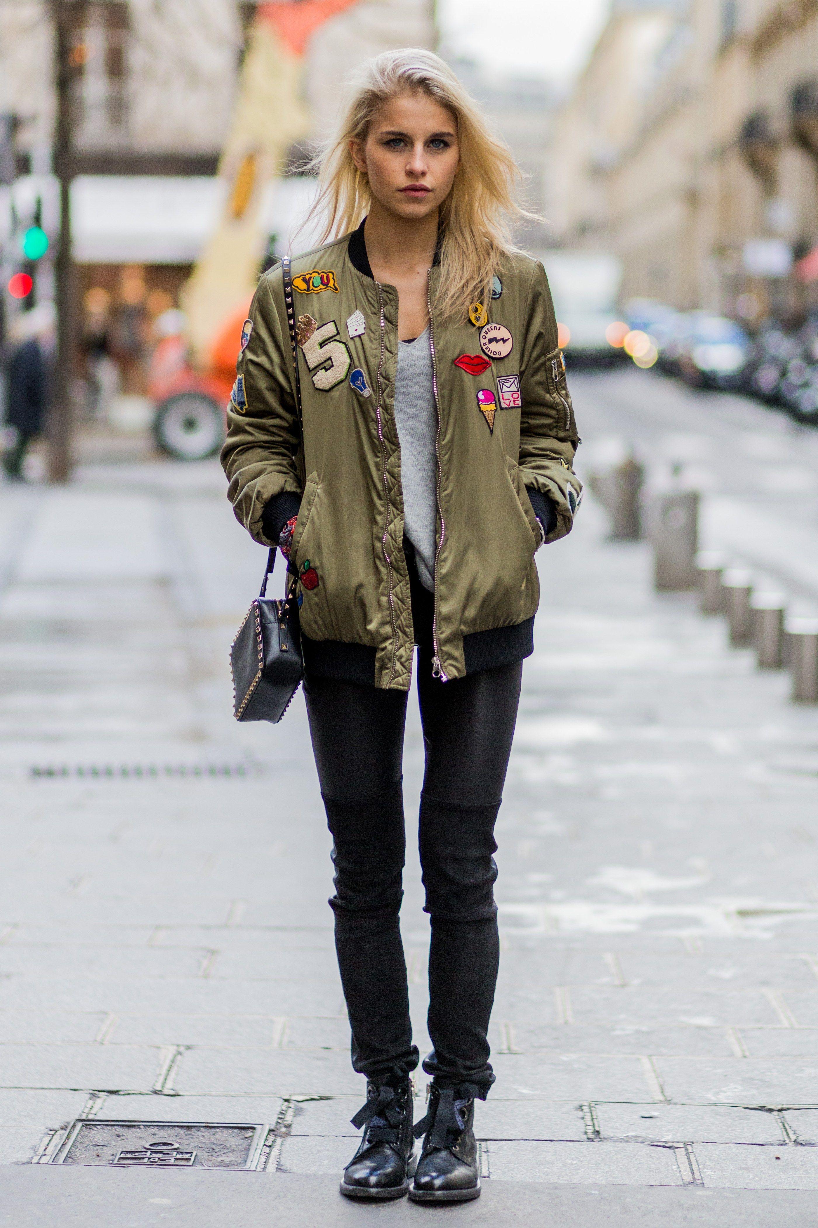 These Women S Bomber Jackets Are Celebrity Approved Bomber Jacket Street Style Bomber Jacket Women Bomber Jacket [ 4203 x 2801 Pixel ]