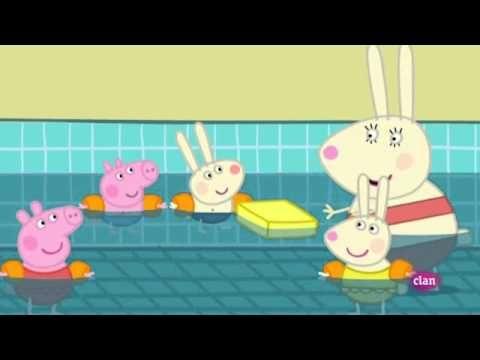 Peppa Pig En la piscina  YouTube  jinne  Pinterest  Spanish