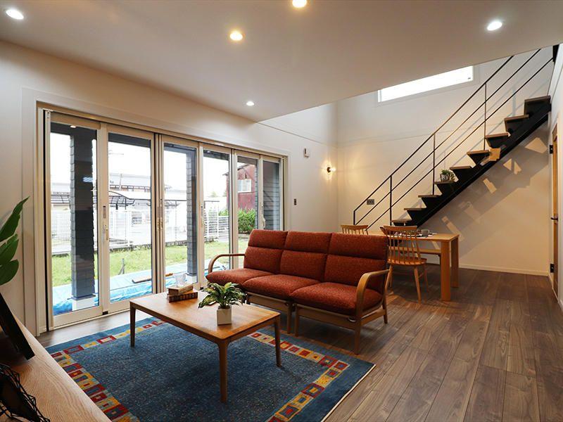 ダウンライトで天井はスッキリと 匠工房 施工事例 新築 リフォーム